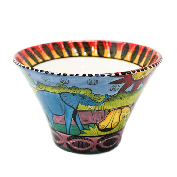 Large Flared Bowl